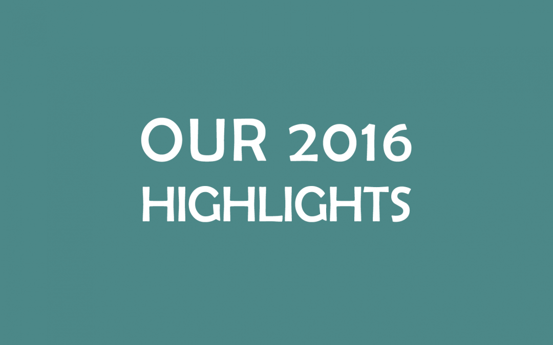 Looking at our 2016 highlights