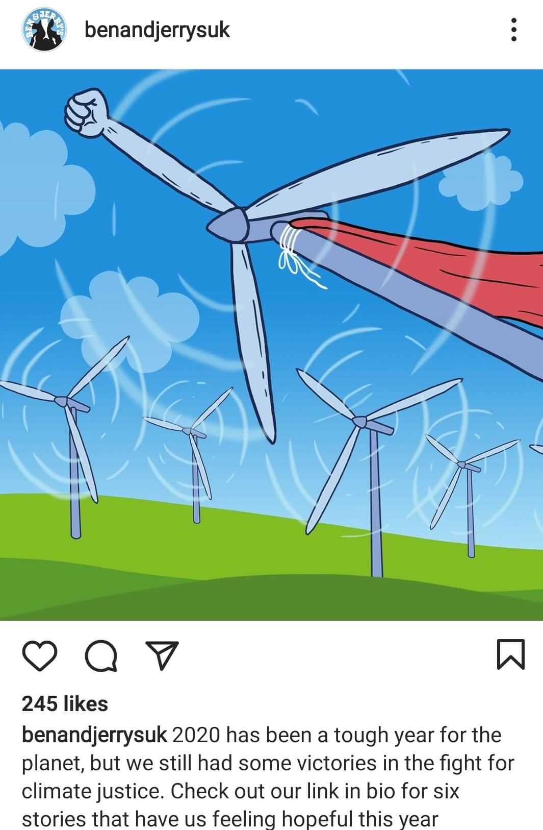 Instagram for Business: Ben and Jerry's