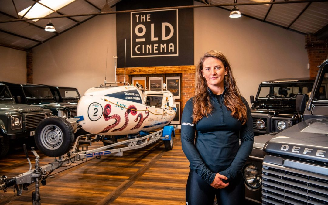 Defender specialist joins forces with Atlantic rower